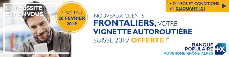 Banque Populaire : vignettes 2019