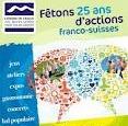 Fêtons les 25 ans de coopération franco-suisse !