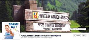 Page Facebook du Groupement transfrontalier européen © GTE