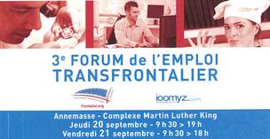 Forum de l'emploi transfrontalier © GTE