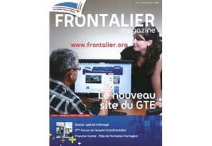 A la une du Frontalier Magazine de septembre 2012 © GTE