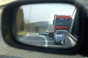 Fermeture temporaire de la route de Thonon à Genève