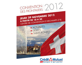 Convention des Frontaliers 2012