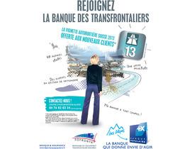 Vignette autoroutière suisse, la promo de la Banque Populaire