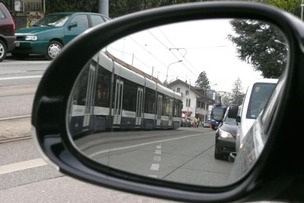 Tram transfrontalier © lucien fortunati