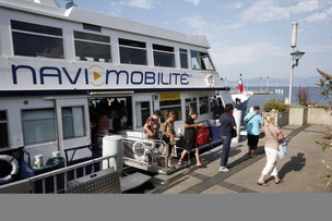 Transports lacustres, rencontre CGN – GTE© lucien fortunat