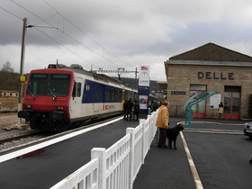 Train Belfort-Delle opérationnel dès 2016