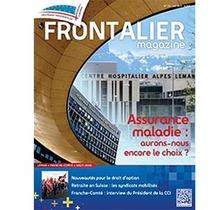 Sortie imminente du Frontalier magazine de juin pour nos adhérents