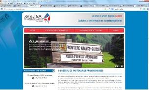 Un nouveau site pour les Maisons transfrontalières