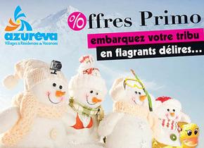 Club frontaliers : Offres Azurèva Hiver 2013/2014