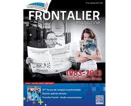 Frontalier magazine de septembre : numéro spécial 50 ans !