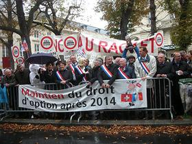 Assurance maladie : manifestation du 16 octobre 2013 à Paris