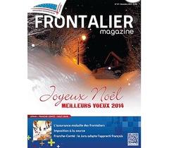 Parution du Frontalier magazine de décembre