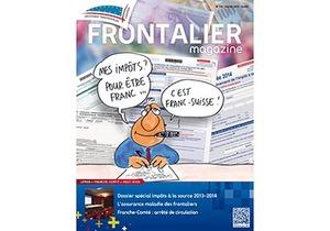 Sortie imminente du Frontalier magazine de février pour nos adhérents