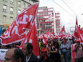 Salaire minimum, suivez les actions du syndicat Unia