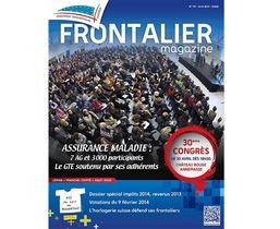 Le Frontalier Magazine du mois d'avril vient de sortir