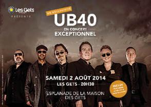 UB40 en concert, 30% de réduction sur votre billet
