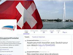 Twitter, nos gazouillis frontaliers