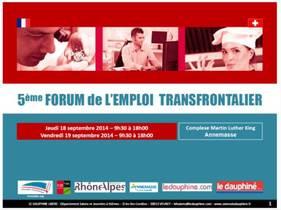 Forum de l'emploi transfrontalier, venez rencontrer les recruteurs