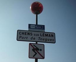 bateau Chens sur Léman copyright : Lucien Fortunati