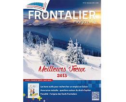 Le Frontalier magazine de décembre bientôt chez vous