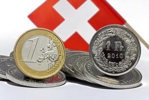Le taux plancher de 1,20 franc pour 1 euro aboli