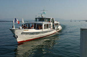 Interruption des bateaux sur le Léman, en raison de la bise