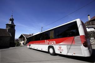 Annecy-Genève, avez-vous pensé aux navettes Lihsa ?