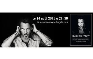 Florent Pagny en concert aux Gets, tarif réduit pour nos adhérents !