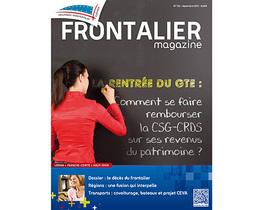 Tout savoir sur le remboursement de la CSG-Crds? Lisez le Frontalier Magazine !