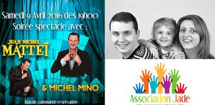 Dîner spectacle : « Ensemble contre une maladie orpheline »