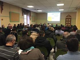 80 adhérents présents à la conférence à Morteau