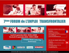 Forum de l'emploi transfrontalier, un vivier pour les recruteurs