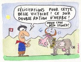 Ruby la Valaisanne remplace Frégate la Vaudoise !