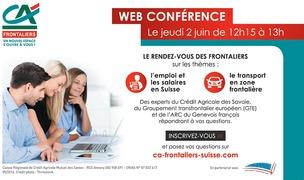 Emploi, salaires et transports en zone frontalière, notre web-conférence
