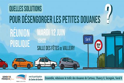 Trafic aux petites douanes : la réunion du 12 juin en vidéo