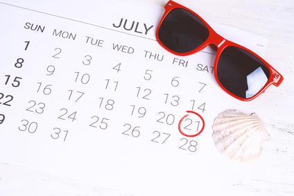Horaires et fermeture d'été