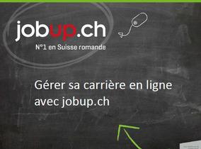 Jobup.ch, exposant au Forum de l'emploi