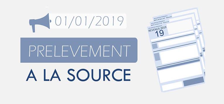 Conférences publiques : le prélèvement à la source en France