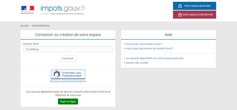 Télédéclaration : comment créer son espace personnel sur impots.gouv.fr
