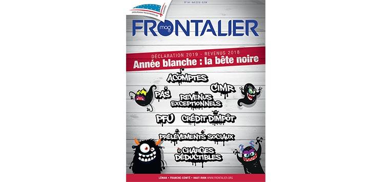 Le Frontalier Mag d'avril arrive bientôt... Découvrez-le en ligne !