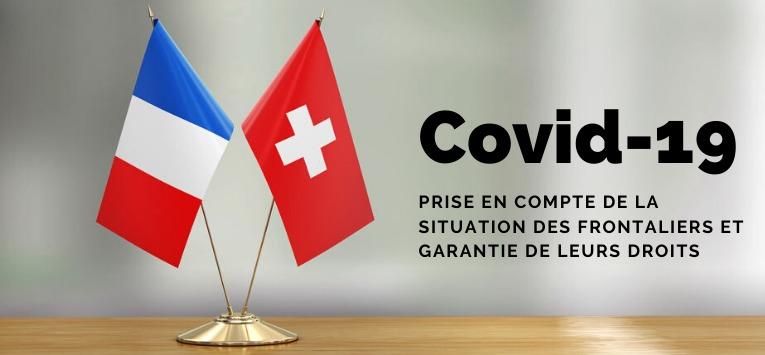 Covid-19: Garantie des droits des frontaliers