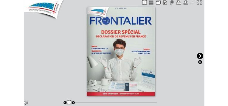Le Frontalier Mag d'avril arrive bientôt découvrez-le en ligne!