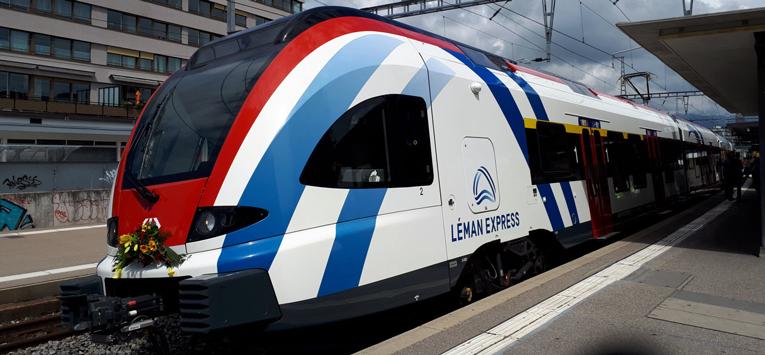 La rentrée 2020 du Leman Express