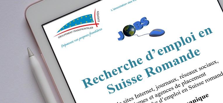 Les sites utiles à la recherche d'emploi en Suisse