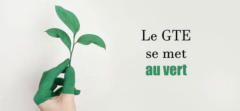 Le GTE se met au vert