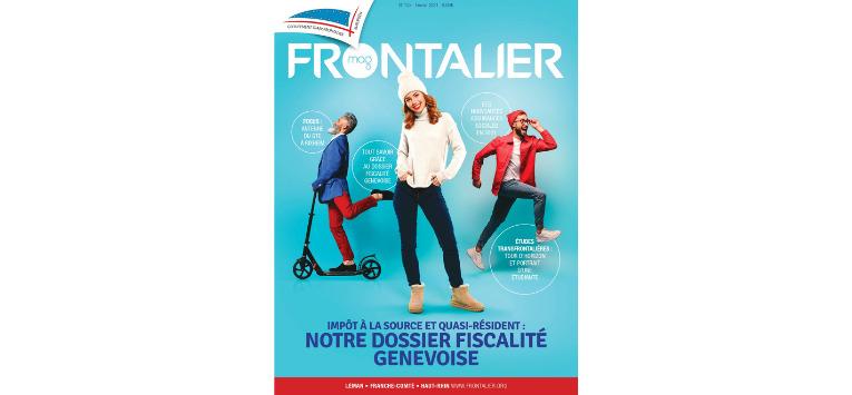 Le Frontalier magazine de Février est en ligne