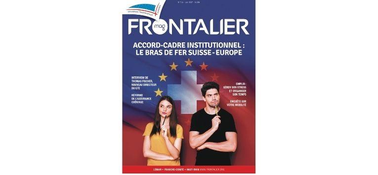Découvrez le dernier le Frontalier magazine de Juin