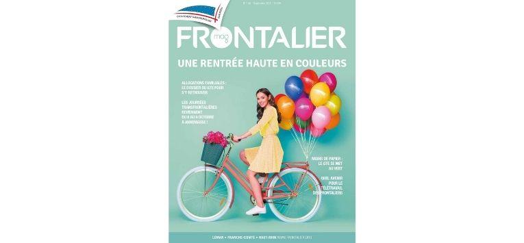 La version digitale du Frontalier Mag est disponible